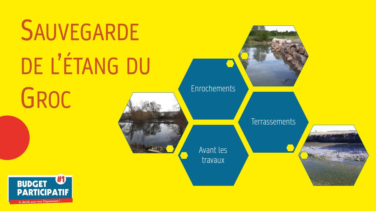 Budget participatif : Sauvegarde de l'étang du Groc