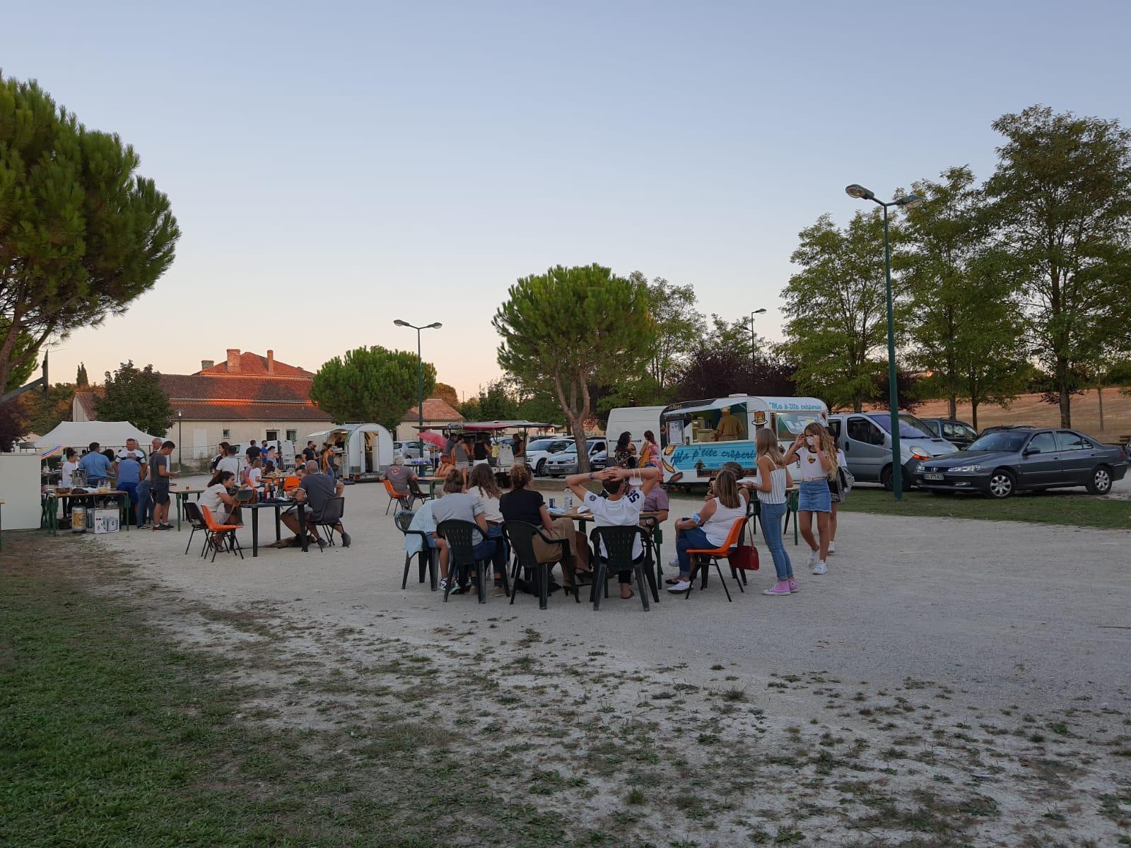 Premier marché gourmand de Fouquebrune - 4 septembre 2020