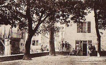 Photo ancienne - Place des Tilleuls