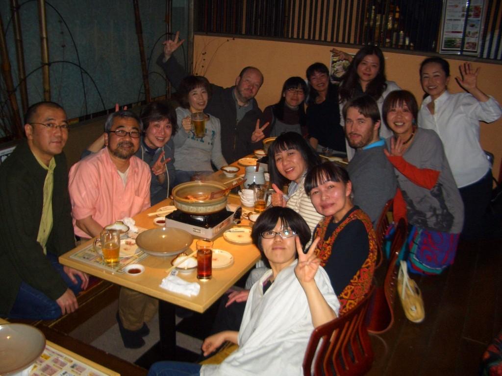 魚桜にて慰労会、関係者の皆様お疲れ様でした!
