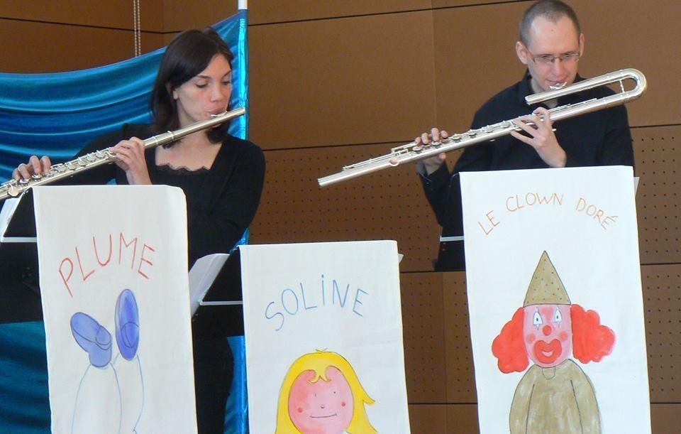 Flûtes alto et basse en duo