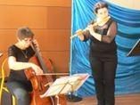 flûte baroque et violoncelle