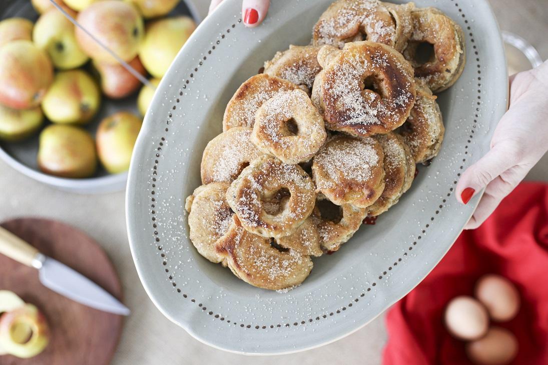 Les Apfelkechles (beignets de pomme)