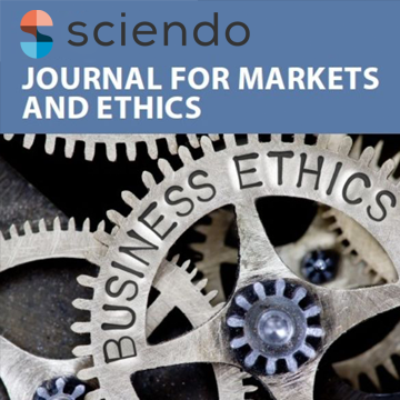 sciendo journal for markets and ethics