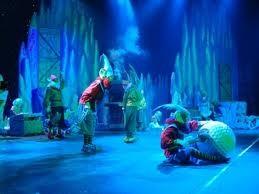 Una grotta di ghiacci polari per la magica fabbrica di Babbo Natale