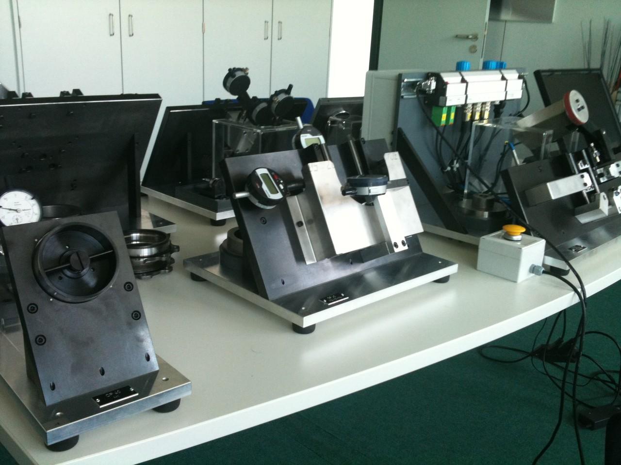 Auftischmessvorrichtungen mit mechanischen Messuhren 3