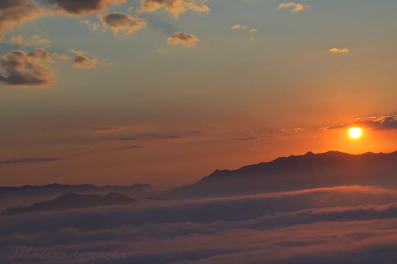 Puesta de sol en Coto Bello