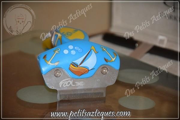 Brosse à poils pour chien : perte de poils chez le chien