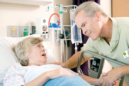 Visite aux personnes hospitalisées