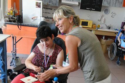 Visite aux personnes en situation de handicap