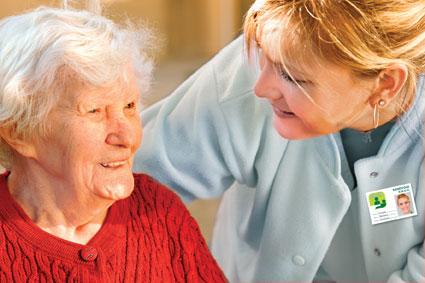 Visite aux personnes âgées