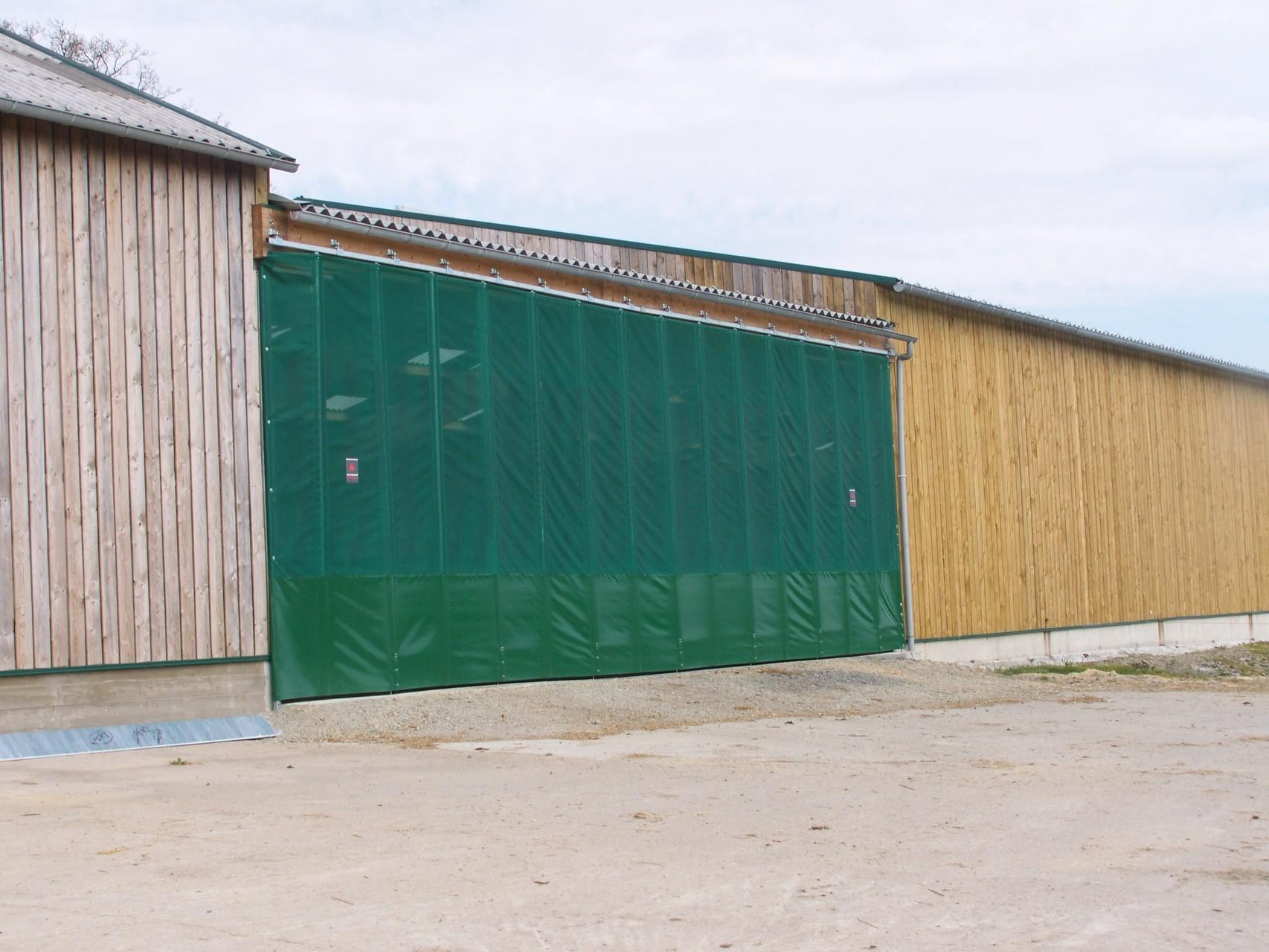 Rail Porte Coulissante Hangar Agricole Rd Railfr Photographies - Rail porte coulissante hangar