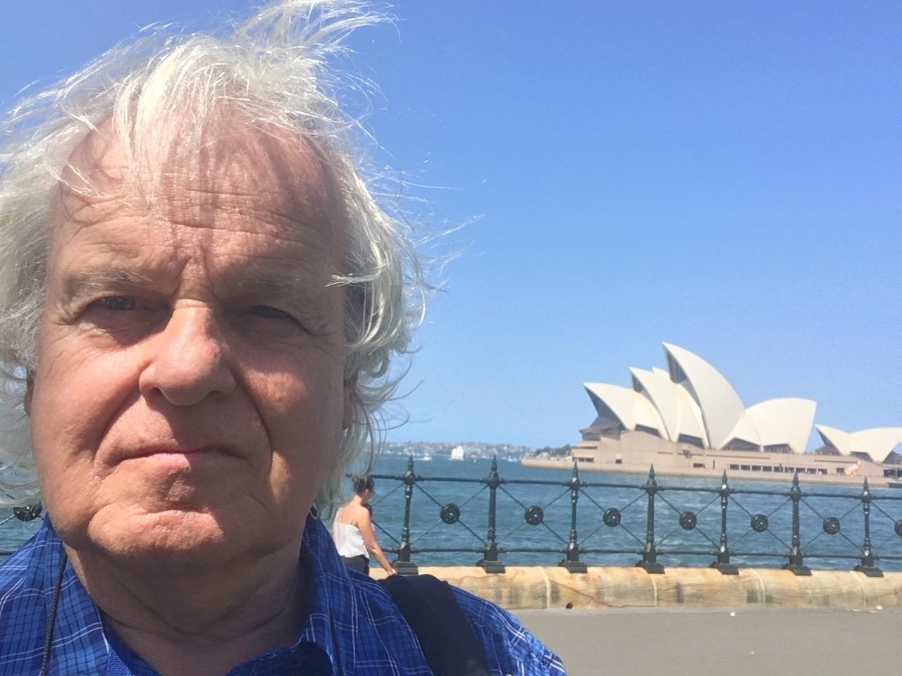 Sydney Harbour 2018 (Selfie).