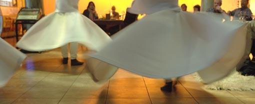 Der Tanz der Derwische, Istanbul
