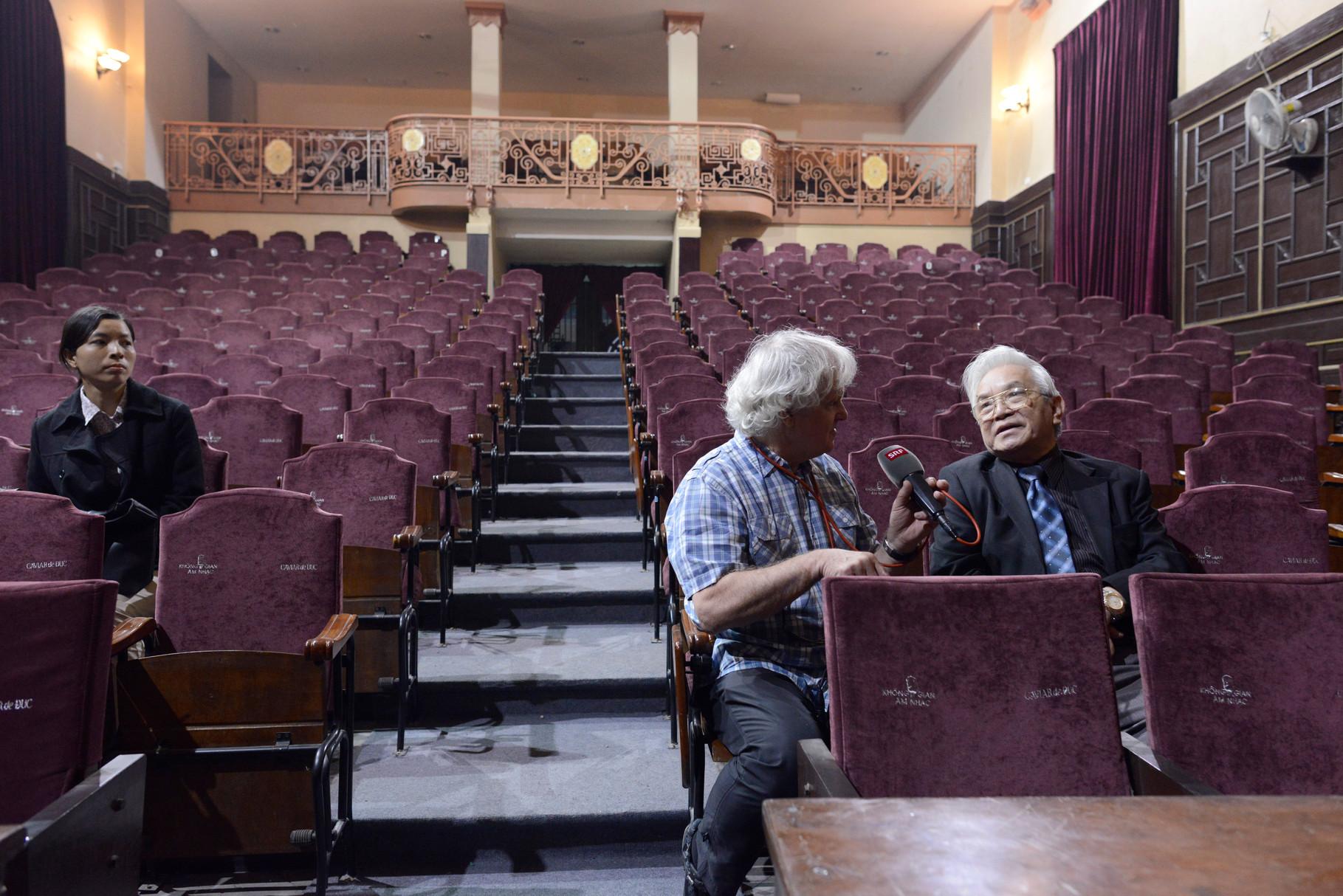 Prof Pham Gia Khai Med Hochschule Hanoi Auditorium  © Roland Schmid