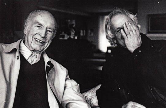 LSD-Endecker Dr. Albert Hofmann im 100. Lebensjahr zu Hause in Burg i.L. (Foto Hugo Jaeggi)