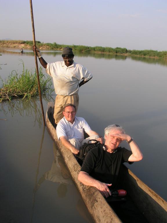 Tanzania mit  Prof. Marcel Tanner, Direktor des Schweiz. Tropeninstitutes (Foto Hugo Jaeggi)