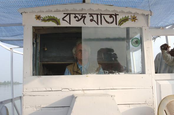 Als Bootsführer in den Sunderbans, India (Foto Ruth Wäfler)