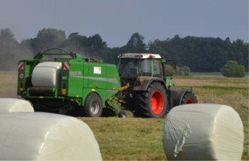 Ballensilage, Bildquelle: www.heitkamp-agrarservice.de