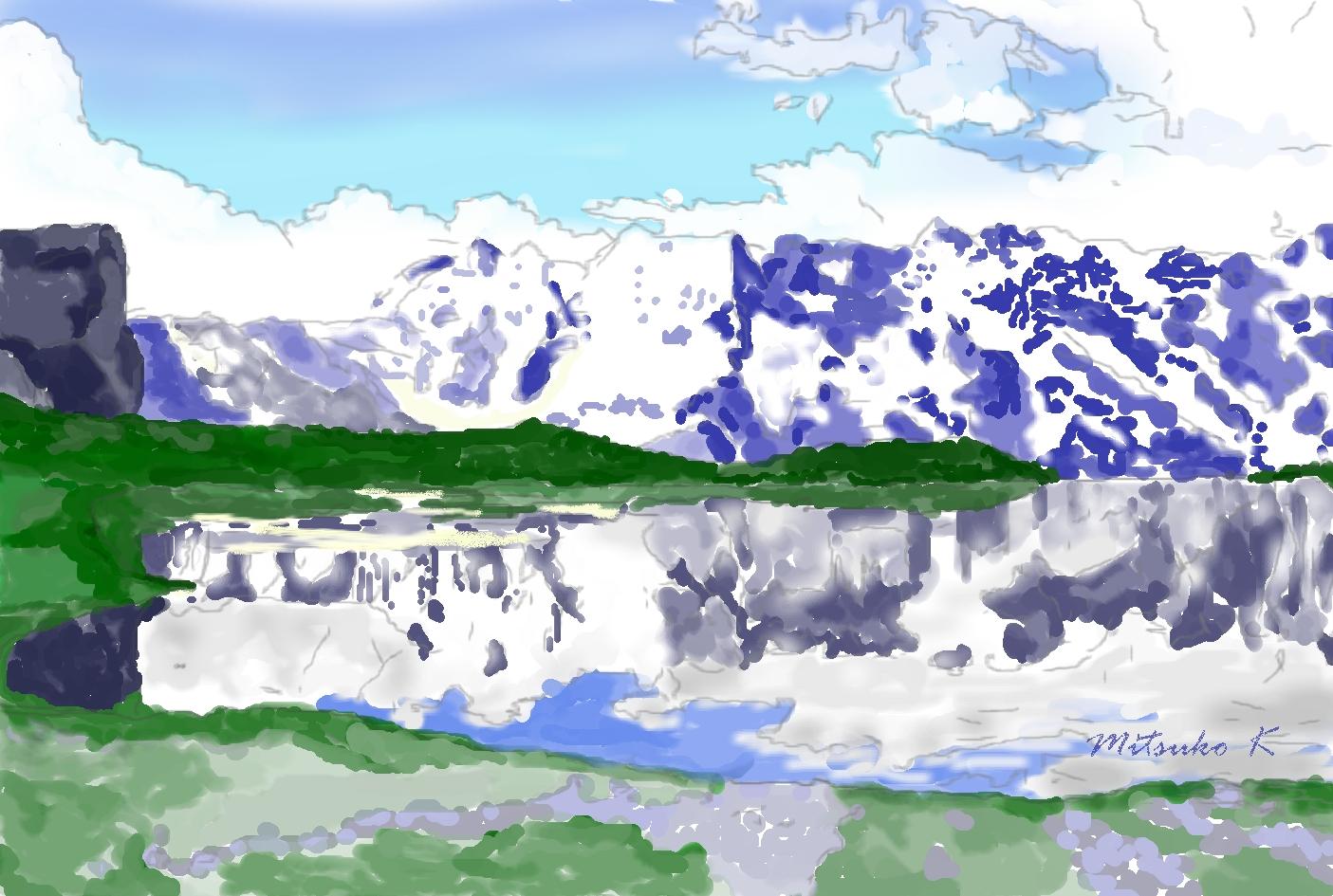グラウゼーリ湖