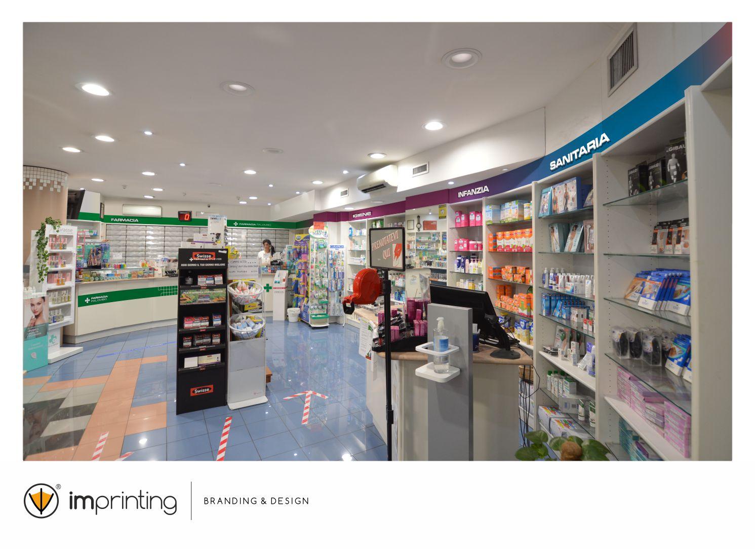 Farmacia Paolombo - Restyling - IMPRINTING Civitavecchia