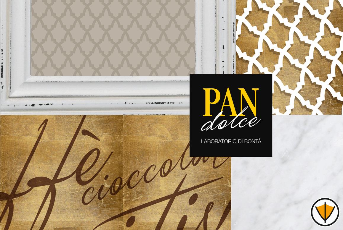 Studio del marchio PANDOLCE BISTROT