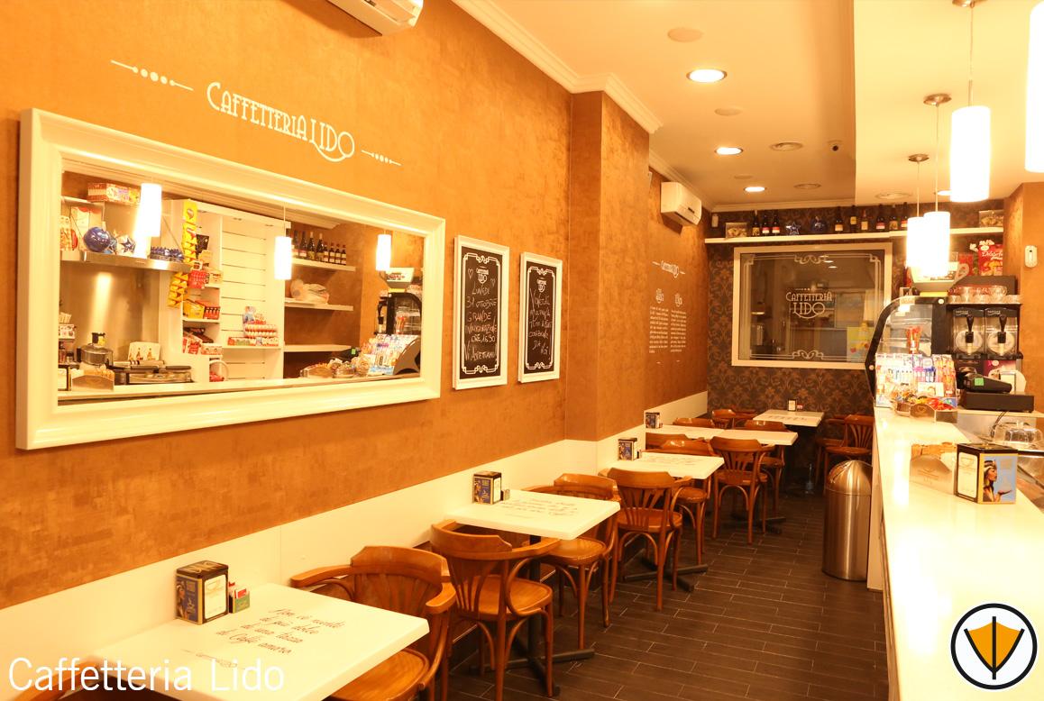 Ristrutturazione bar Caffetteria Lido - Dopo
