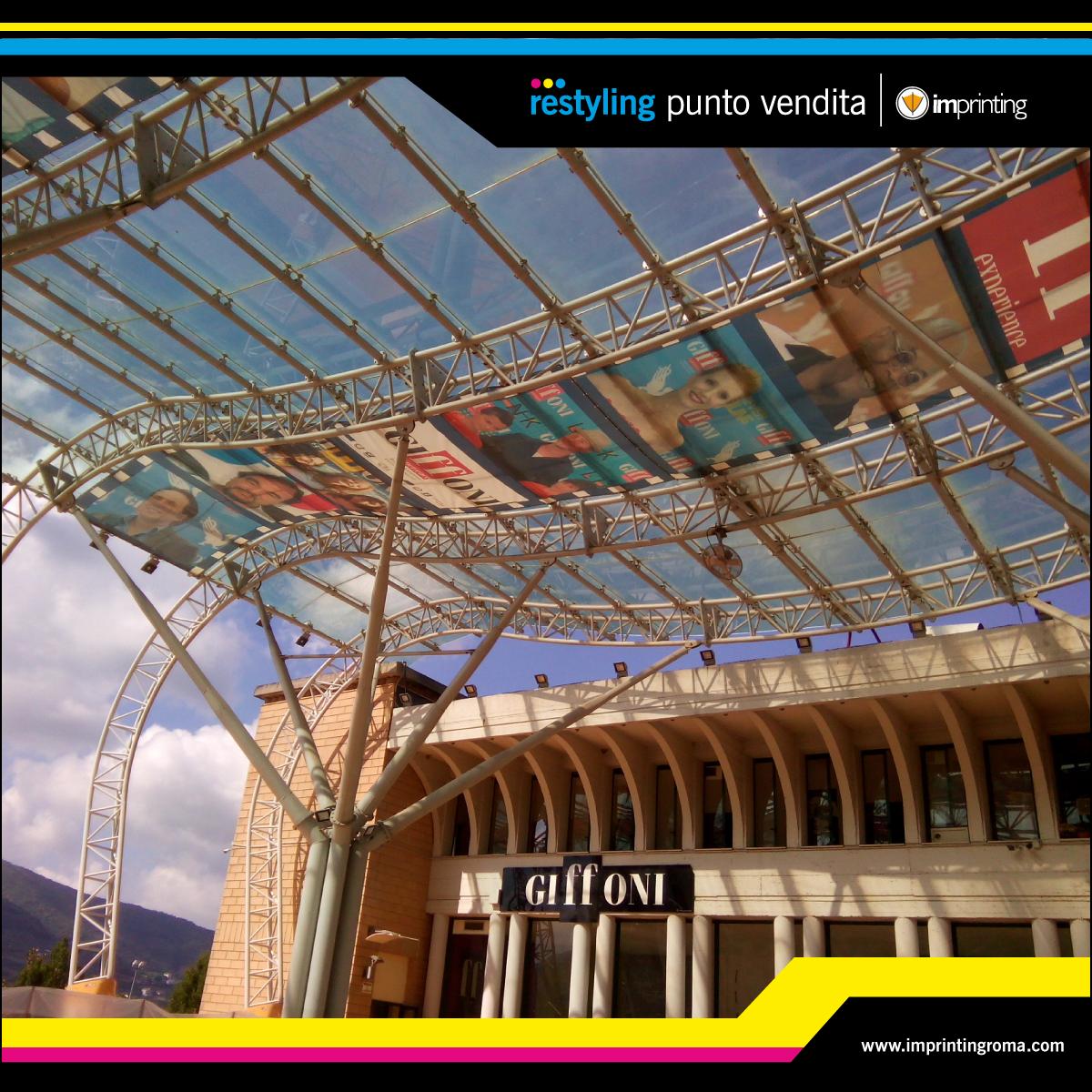 Giffoni film festival - wall calpestabile