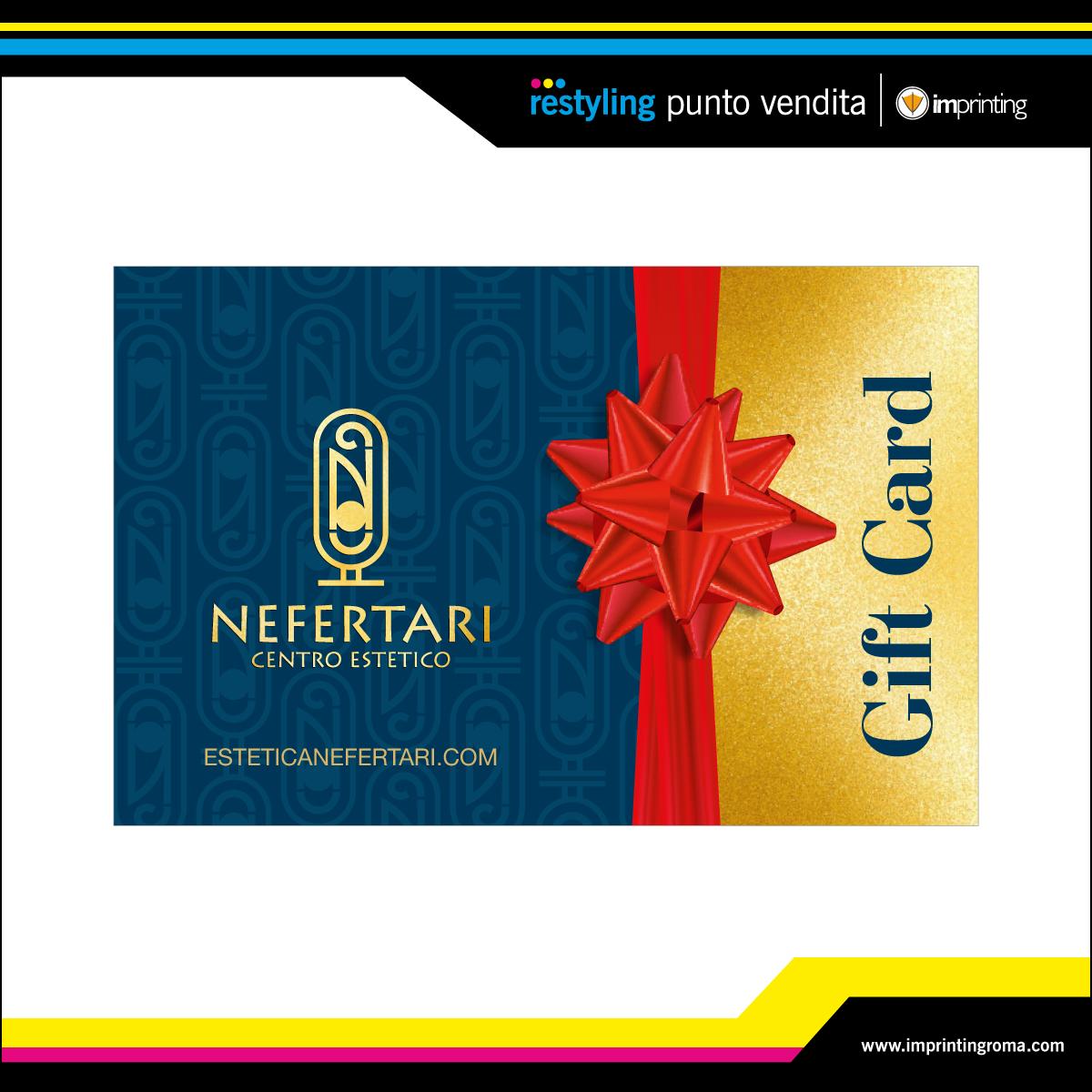 Gift Card - Nefertari Centro Estetico