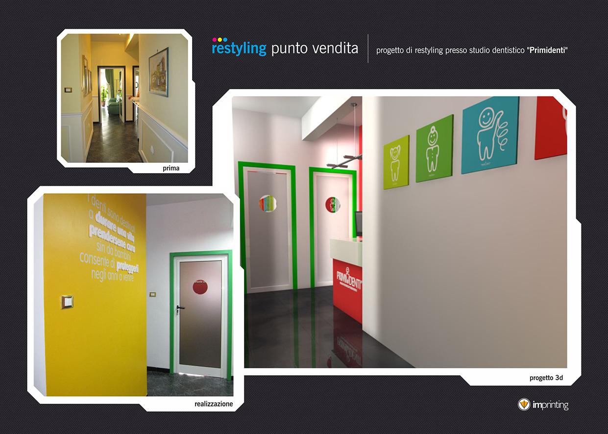 Restyling studio dentistico Ostia
