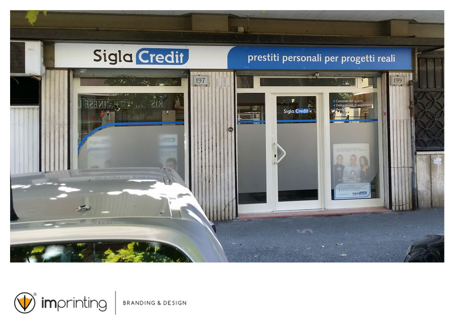 Sigla Credit - Insegna Ostia
