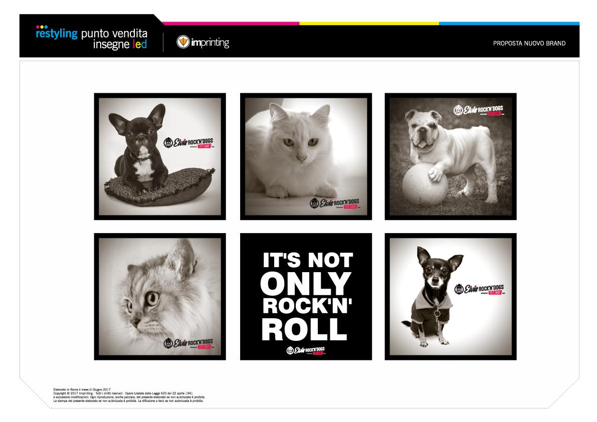 Imprinting Ostia - Studio del marchio Elvis Rock'n'Dogs