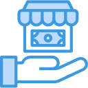 Icone de boutique en ligne