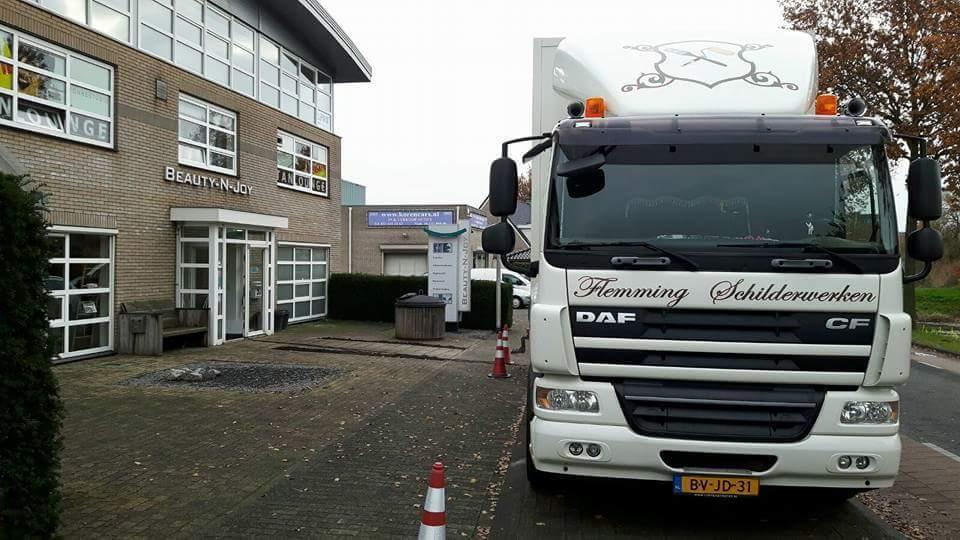 Deuren spuiten Beauty-N-Joy Amersfoort (Utrecht)