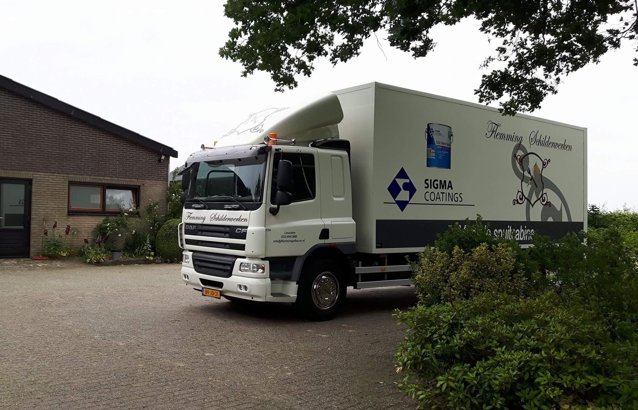Meubels spuiten Boerderij Rekken (Gelderland)
