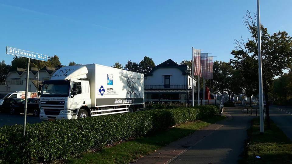 Deuren spuiten Hotel Schimmel Scherpenzeel (Utrecht)