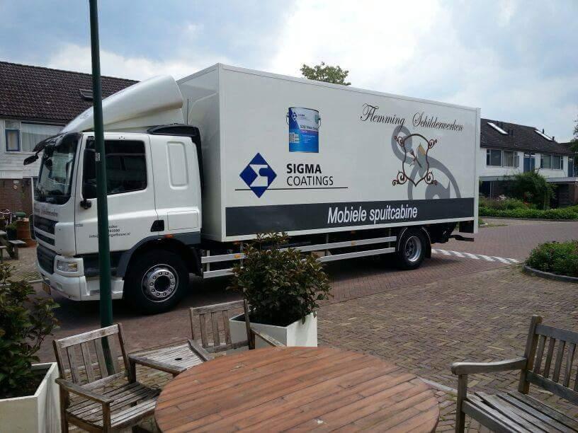 Deuren spuiten Leusden (Utrecht)