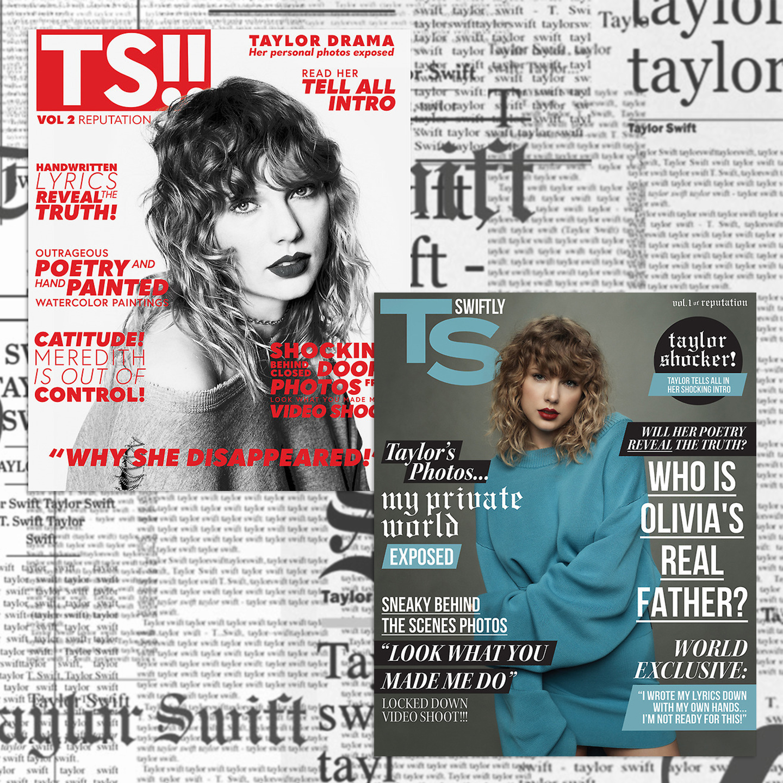 """reputation Magazine"" Volume 1/2 - Back"