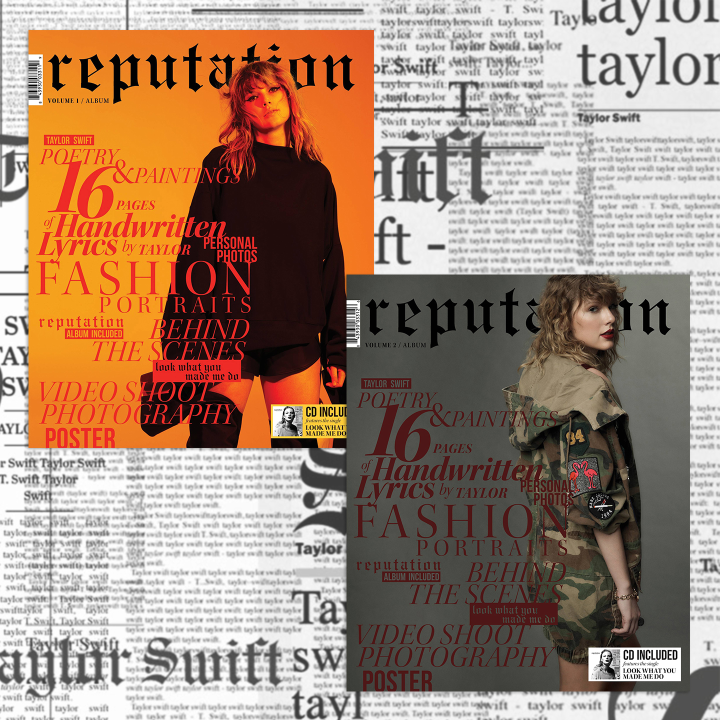 """reputation Magazine"" Volume 1/2 - Front"