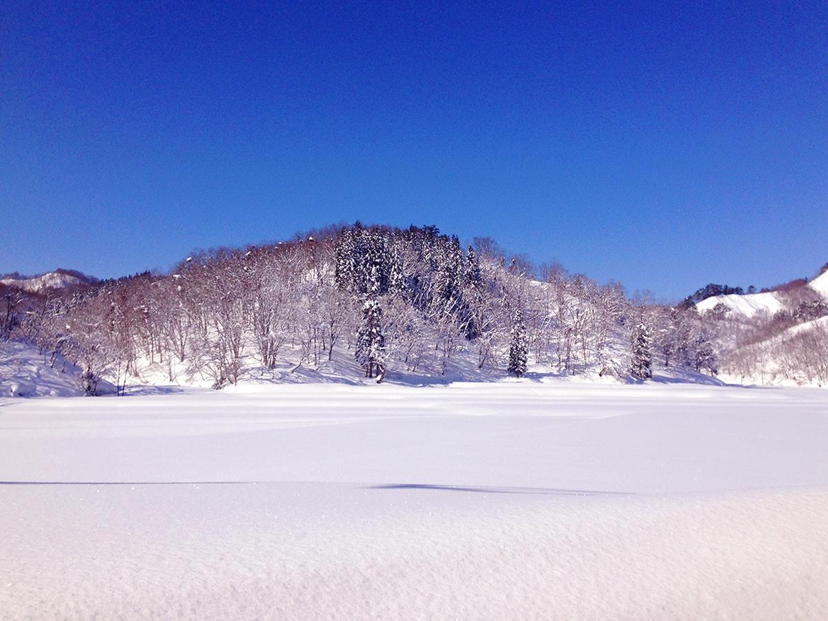 photo11:雪景色(宇津沢部落)