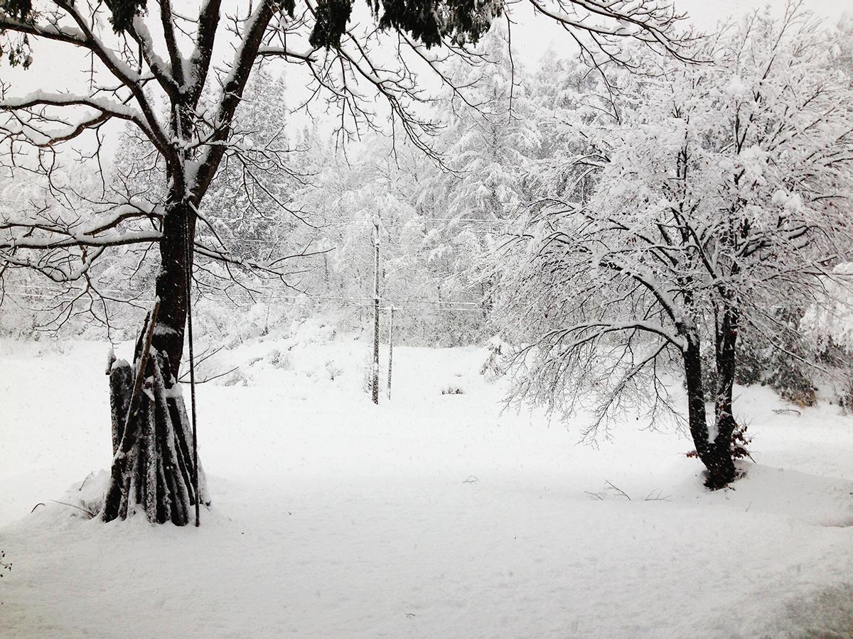 1月 雪景色(宇津沢部落)