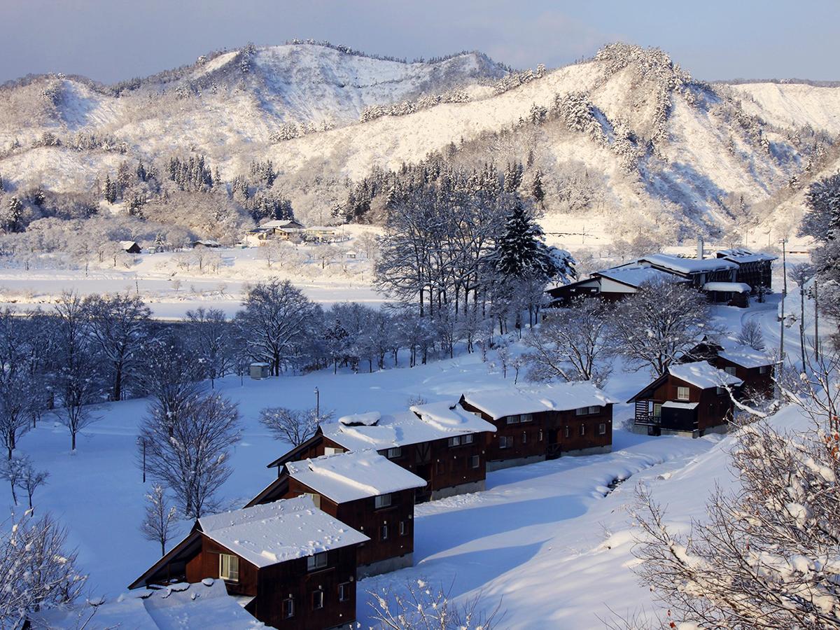 12月 雪景色(木湖里館)