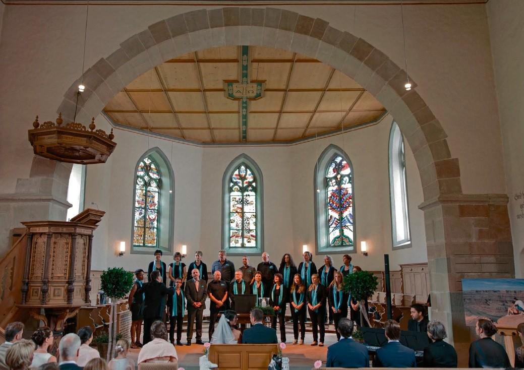 Hochzeit vom 12. Juli 2014, Kirche Trub