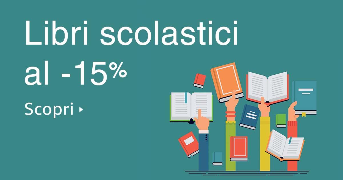 Libri scolastici fino al 15% di sconto