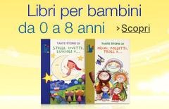 Libri per bambini da 0 a 8 anni