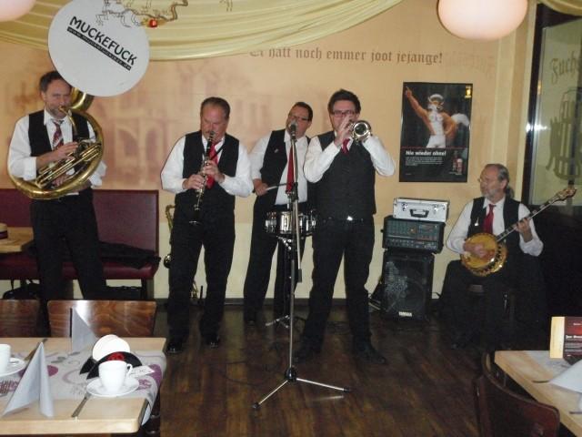 Jazzbrunch in der Fuchsjad - tolles Essen - super Musik