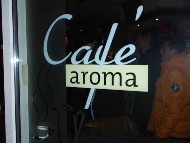 Konzert im Cafe Aroma, wir kommen wieder actiondates und Level Club