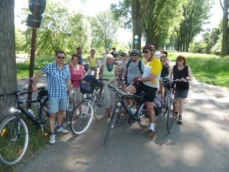 Radtour nach Krefeld Burg Linn
