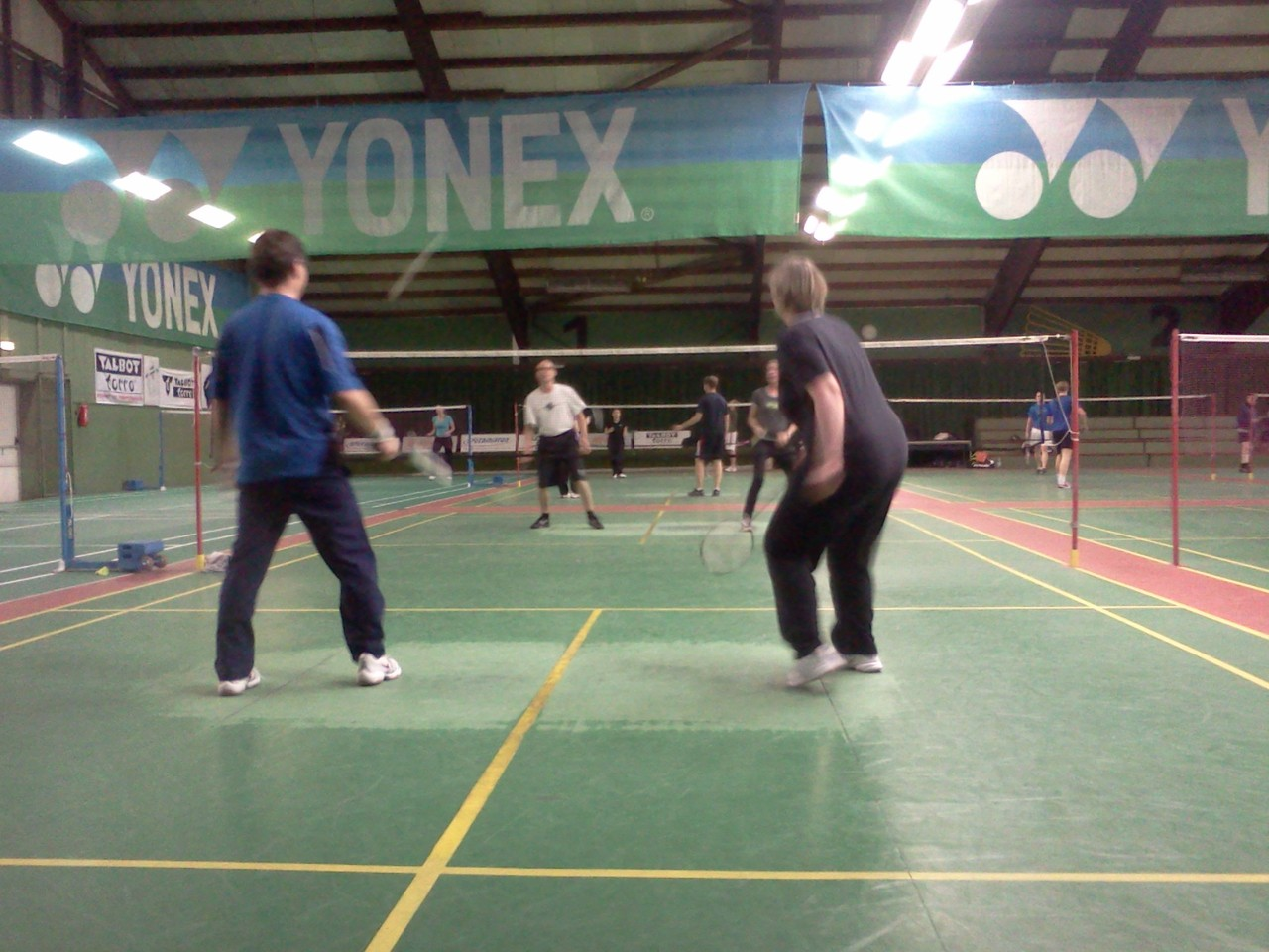 Badminton am Donnerstag
