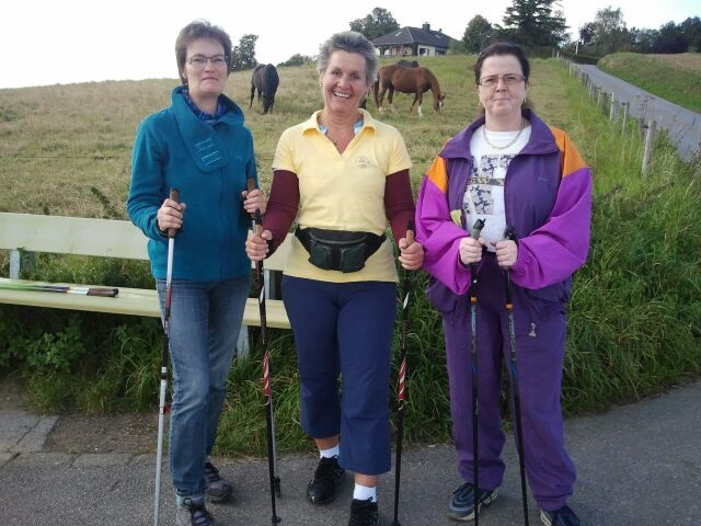 Nordic Walking Workshop mit Sissi